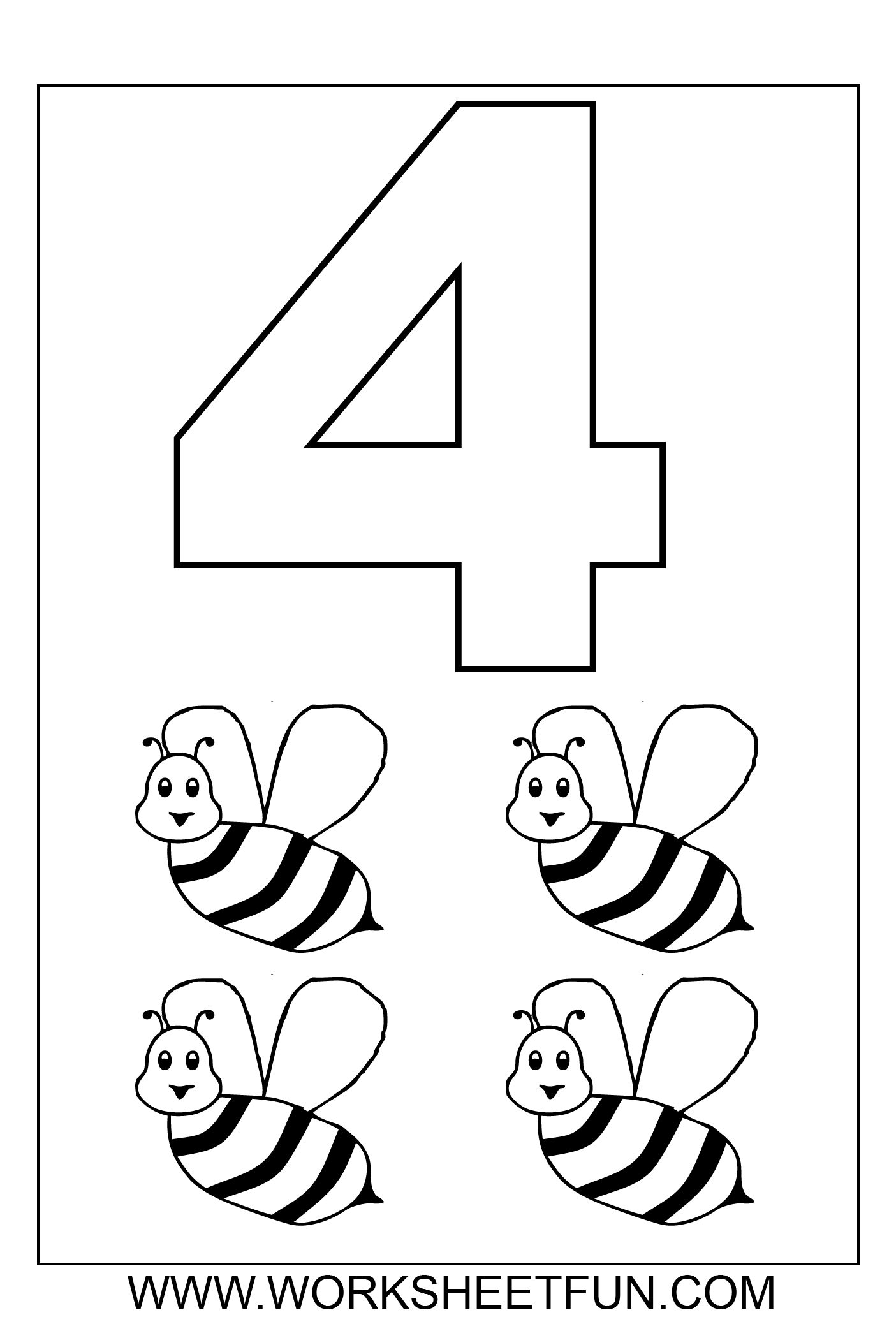 coloring pages 4 download free number 4 drawing 4 pages coloring