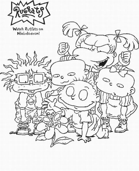 coloring pages 90s 90 s cartoon coloring pages coloring 90s pages
