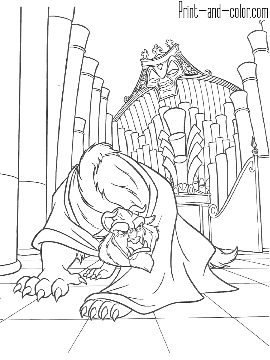 coloring pages beauty and the beast beauty and the beast bella giving a gift to beast beauty pages coloring and the beast