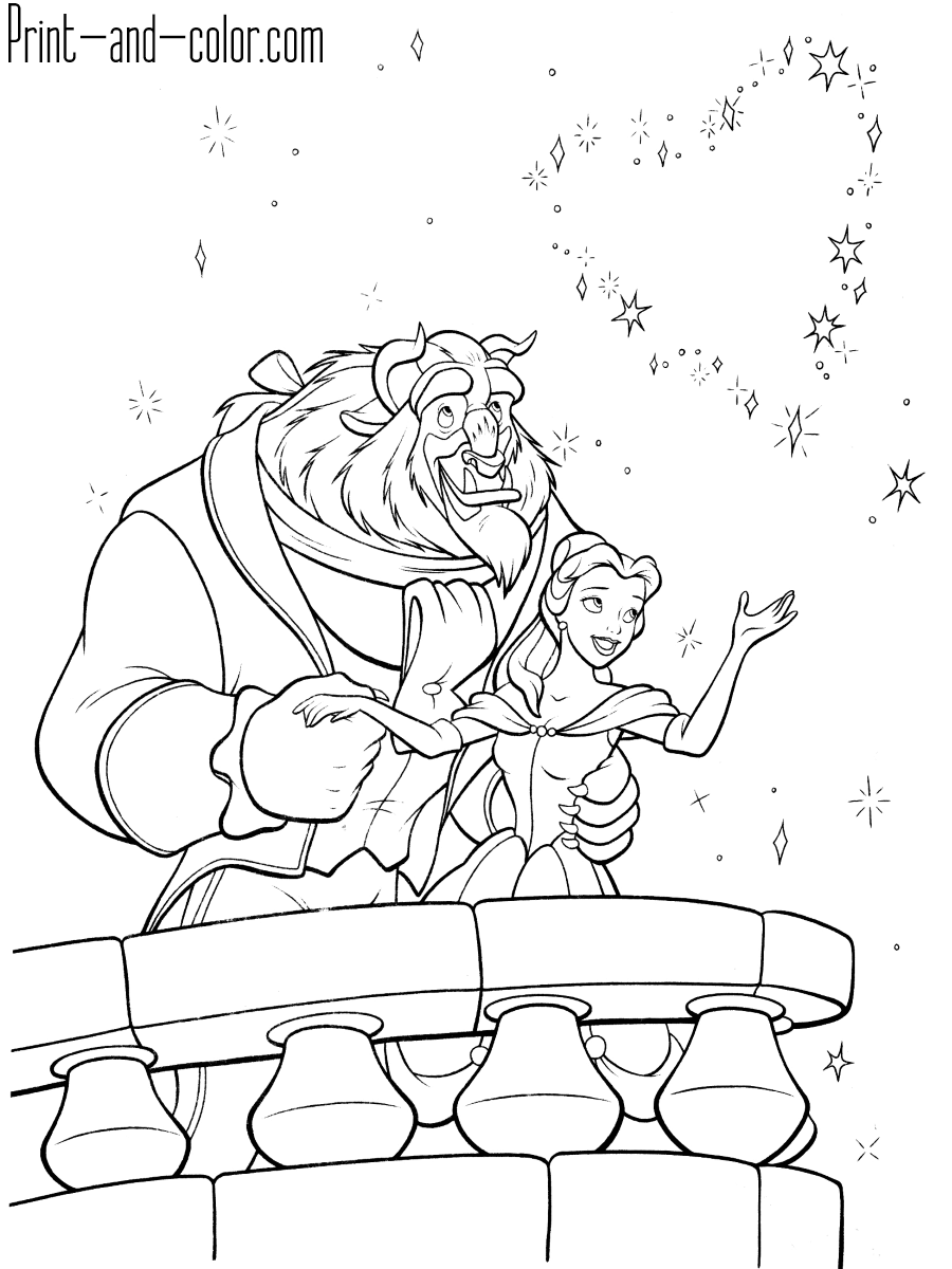 coloring pages beauty and the beast beauty and the beast coloring pages beauty the and coloring pages beast
