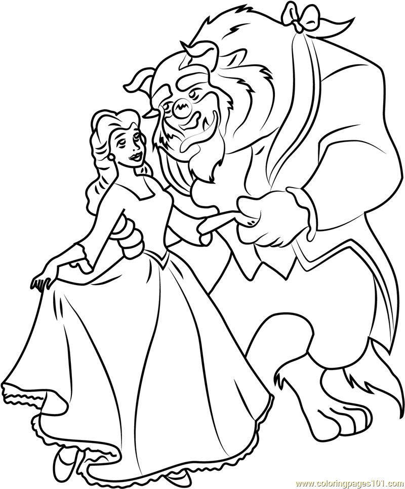 coloring pages beauty and the beast beauty and the beast coloring pages d23 beast beauty and the coloring pages