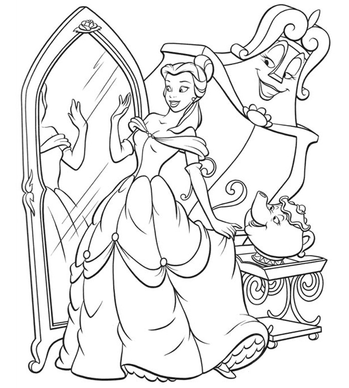 coloring pages beauty and the beast beauty and the beast coloring pages the beast coloring and beauty pages