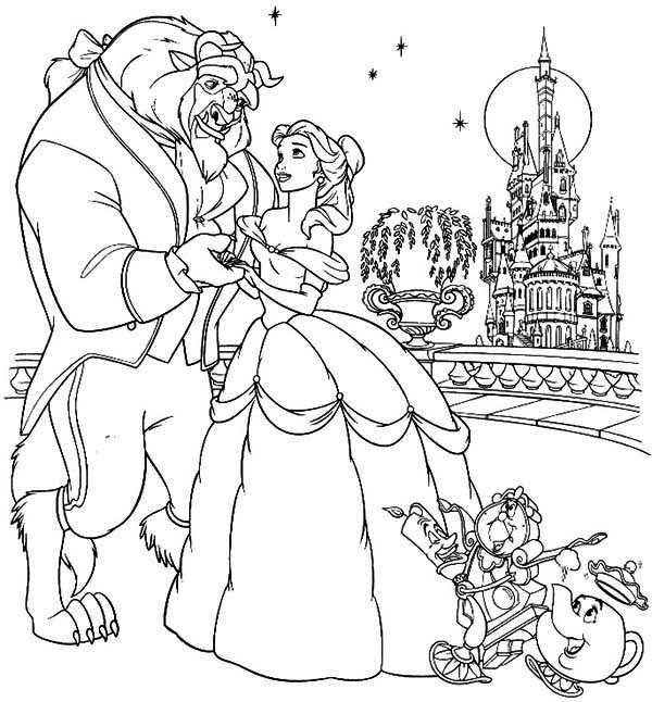 coloring pages beauty and the beast bell from beauty and the beast coloring pages coloring home pages and the coloring beauty beast