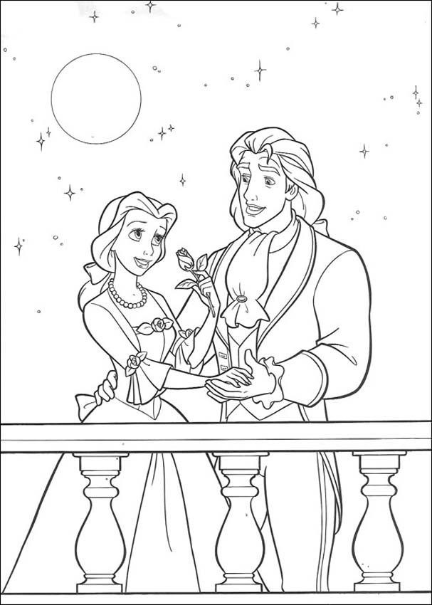 coloring pages beauty and the beast belle and the beast are meant together coloring page pages beast coloring the and beauty