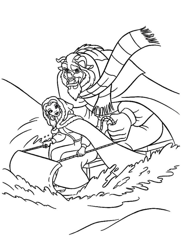 coloring pages beauty and the beast free beauty and the beast coloring pages pages beauty the beast and coloring