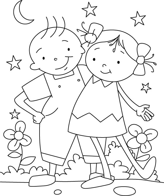 coloring pages best friends two best friends coloring pages at getcoloringscom free friends coloring best pages