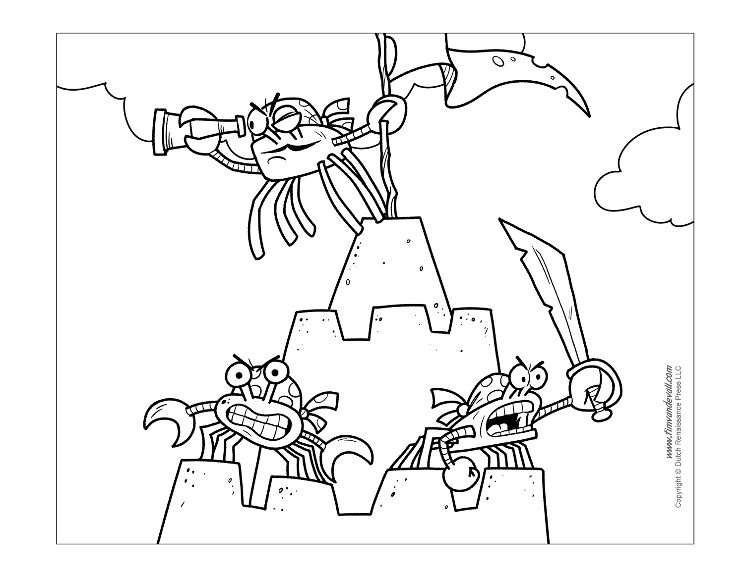 coloring pages crab crab coloring pages kidsuki crab coloring pages
