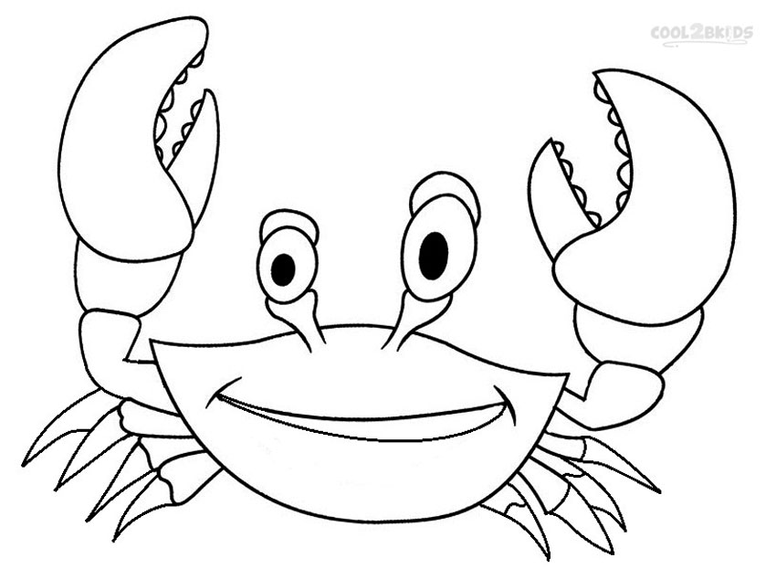 coloring pages crab free printable crab coloring pages for kids animal place coloring pages crab