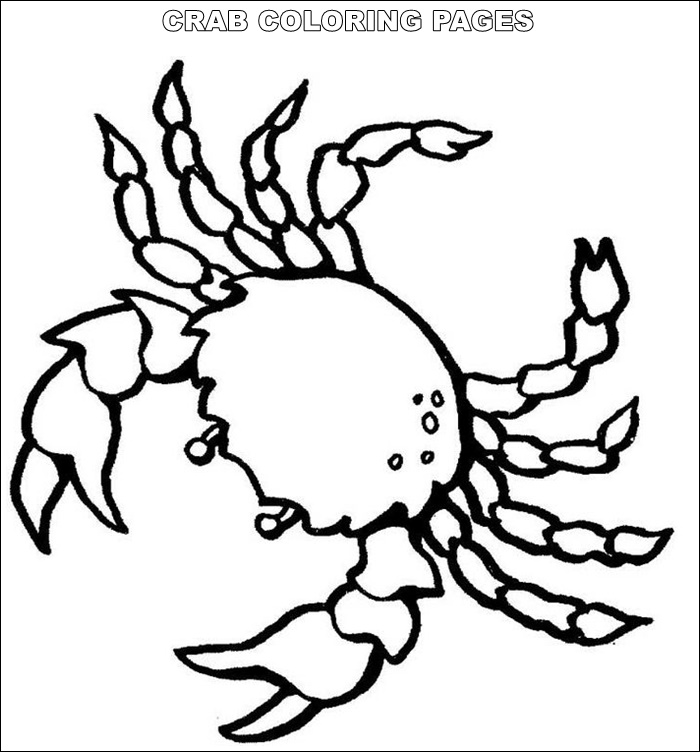 coloring pages crab free printable crab coloring pages for kids animal place coloring pages crab 1 1