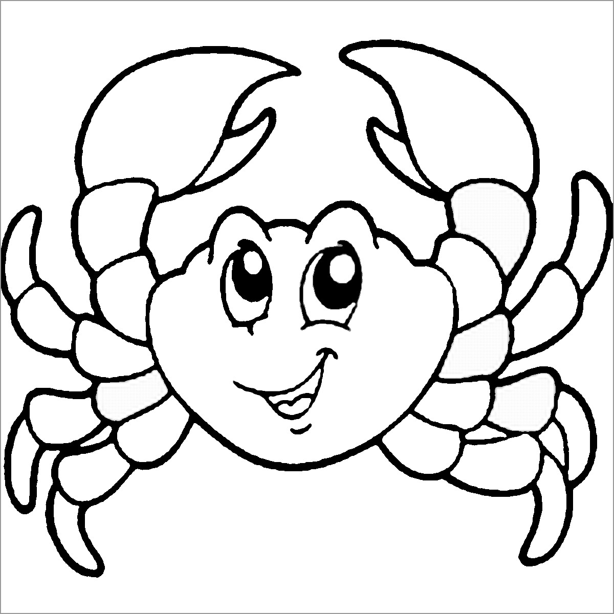coloring pages crab printable crab coloring pages for kids coloring pages crab