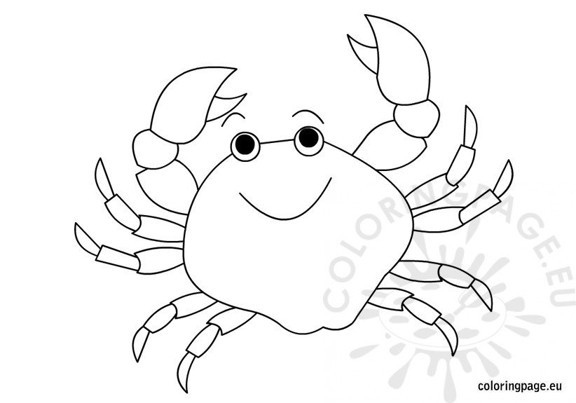 coloring pages crab printable crab coloring pages for kids crab coloring pages