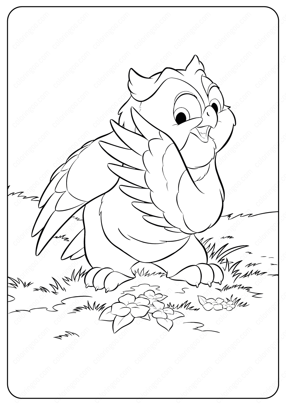 coloring pages disney animals baby animal coloring pages best coloring pages for kids animals pages coloring disney