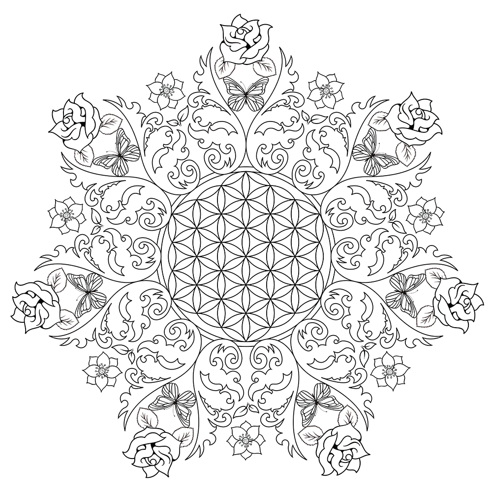 coloring pages for adults to print flowers flower coloring page to flowers print pages coloring adults for