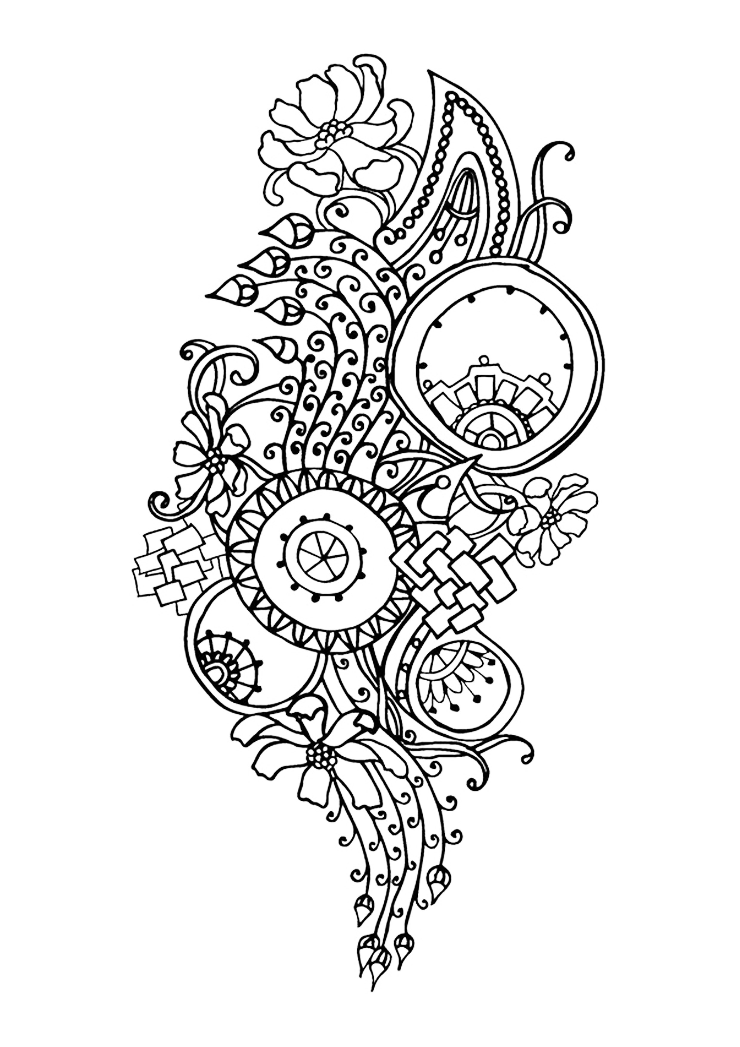 coloring pages for adults to print flowers flower coloring pages for adults best coloring pages for to for flowers coloring pages adults print