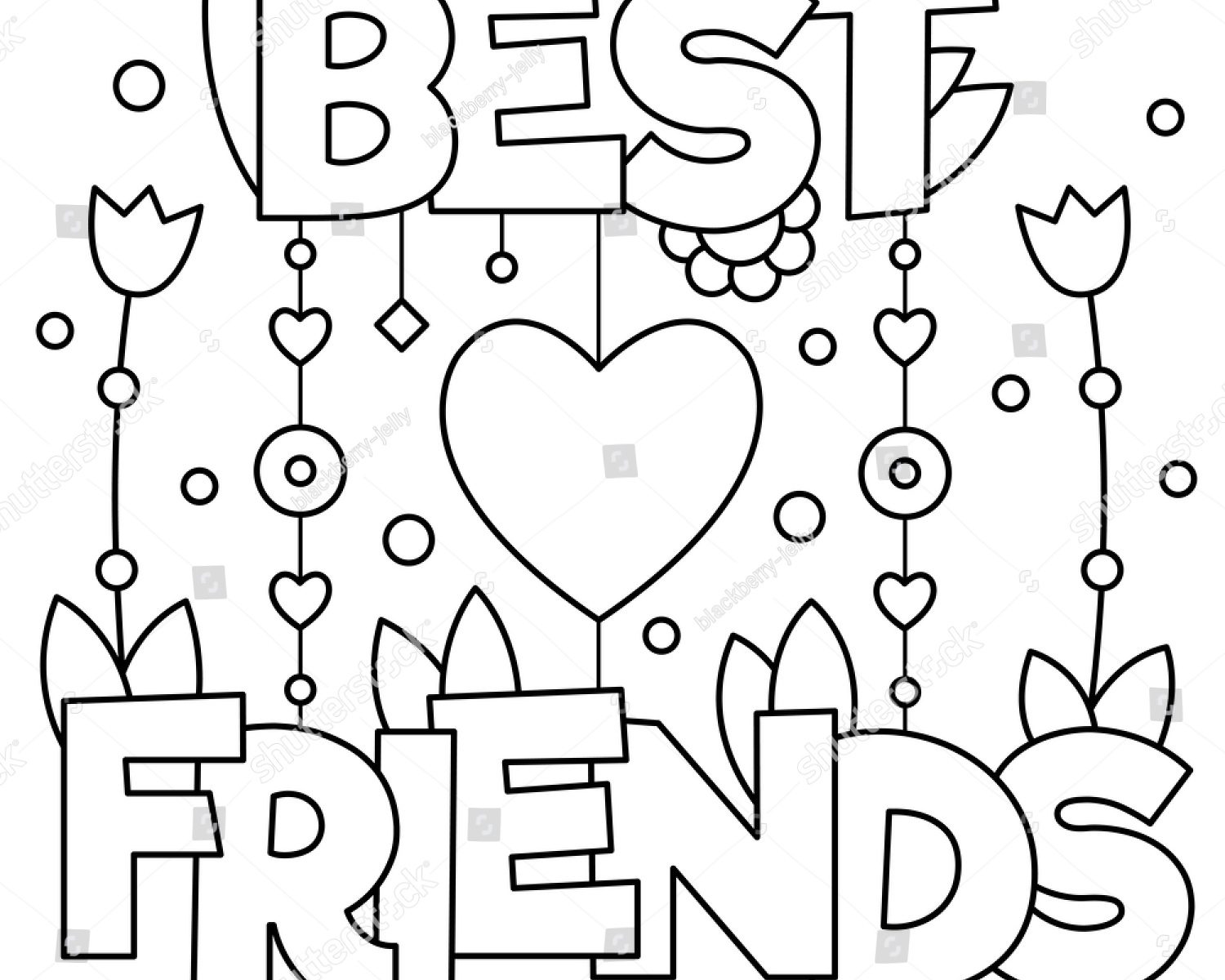 coloring pages for friendship best friend forever coloring pages coloring pages pages friendship for coloring