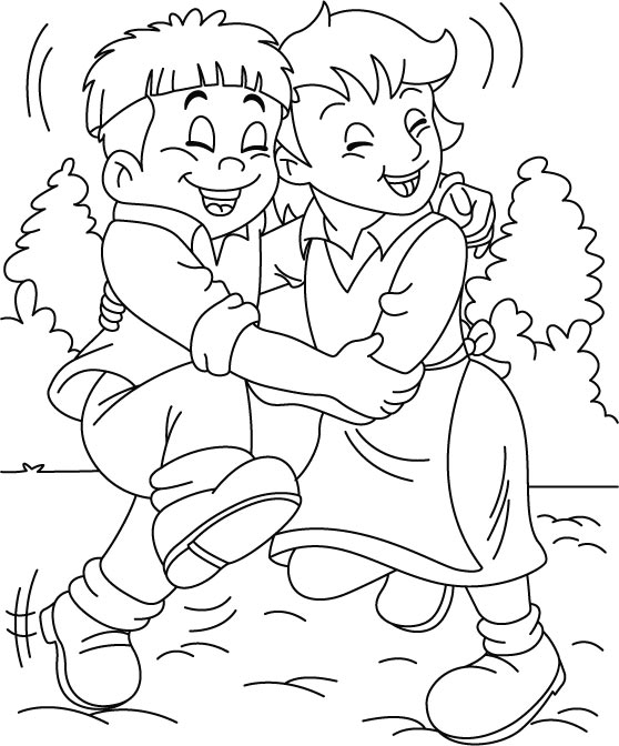 coloring pages for friendship best friends coloring pages best coloring pages for kids friendship for pages coloring