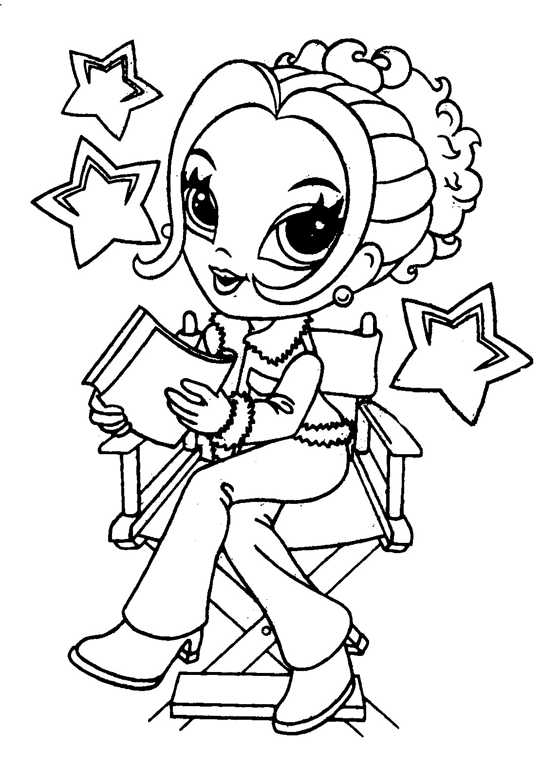 coloring pages girls coloring page the girl draws coloring pages girls