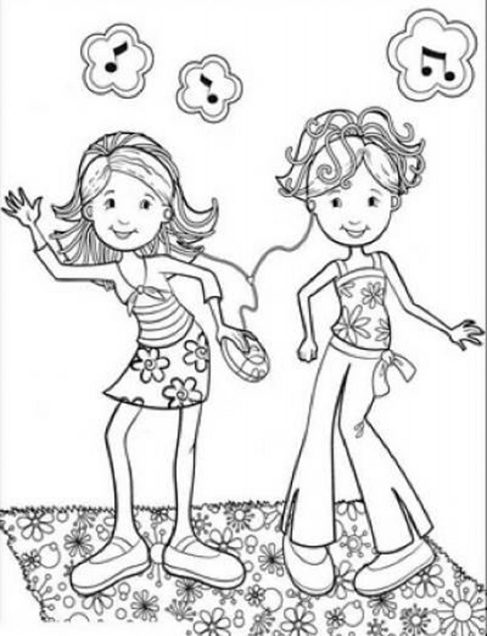 coloring pages girls kids n funcom 65 coloring pages of groovy girls pages coloring girls