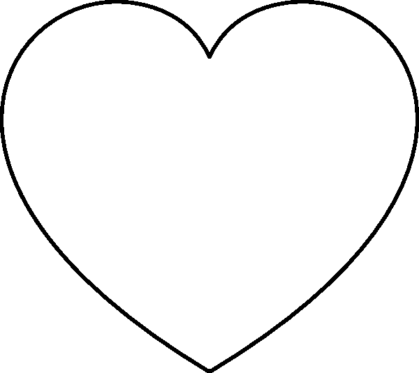 coloring pages heart shape free printable heart coloring pages for kids shape coloring pages heart