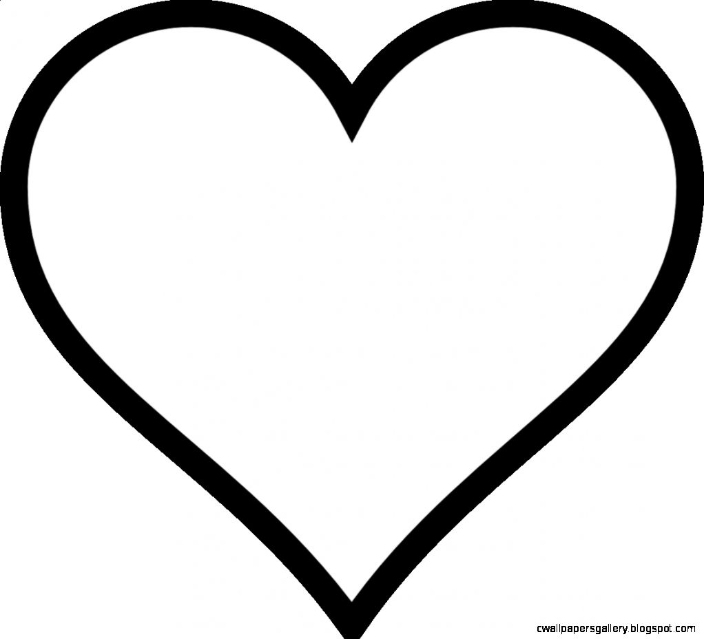 coloring pages heart shape heart shape pictures clipartsco shape coloring heart pages