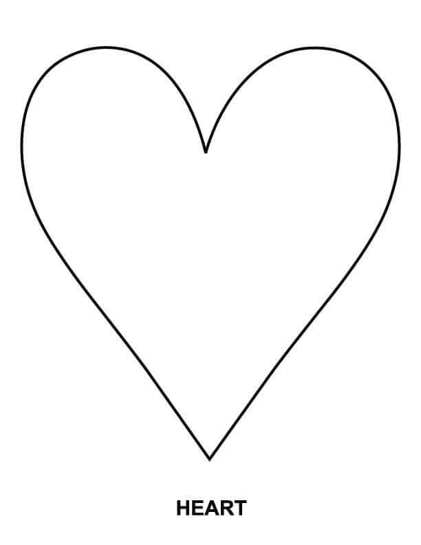 coloring pages heart shape heart shaped coloring pages tryonshortscom shape heart shape pages coloring