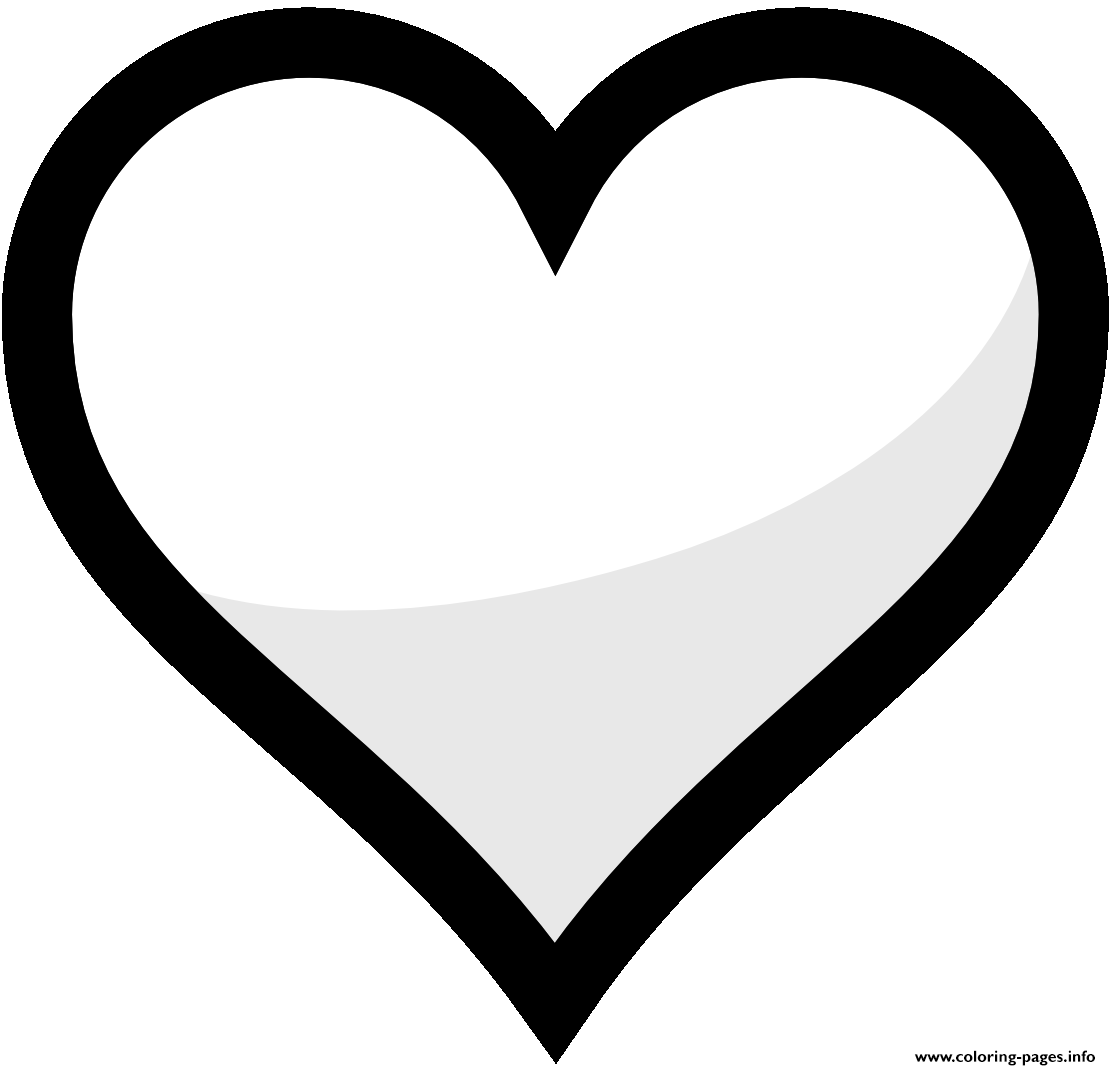 coloring pages heart shape heart shapes pictures clipartsco coloring pages heart shape