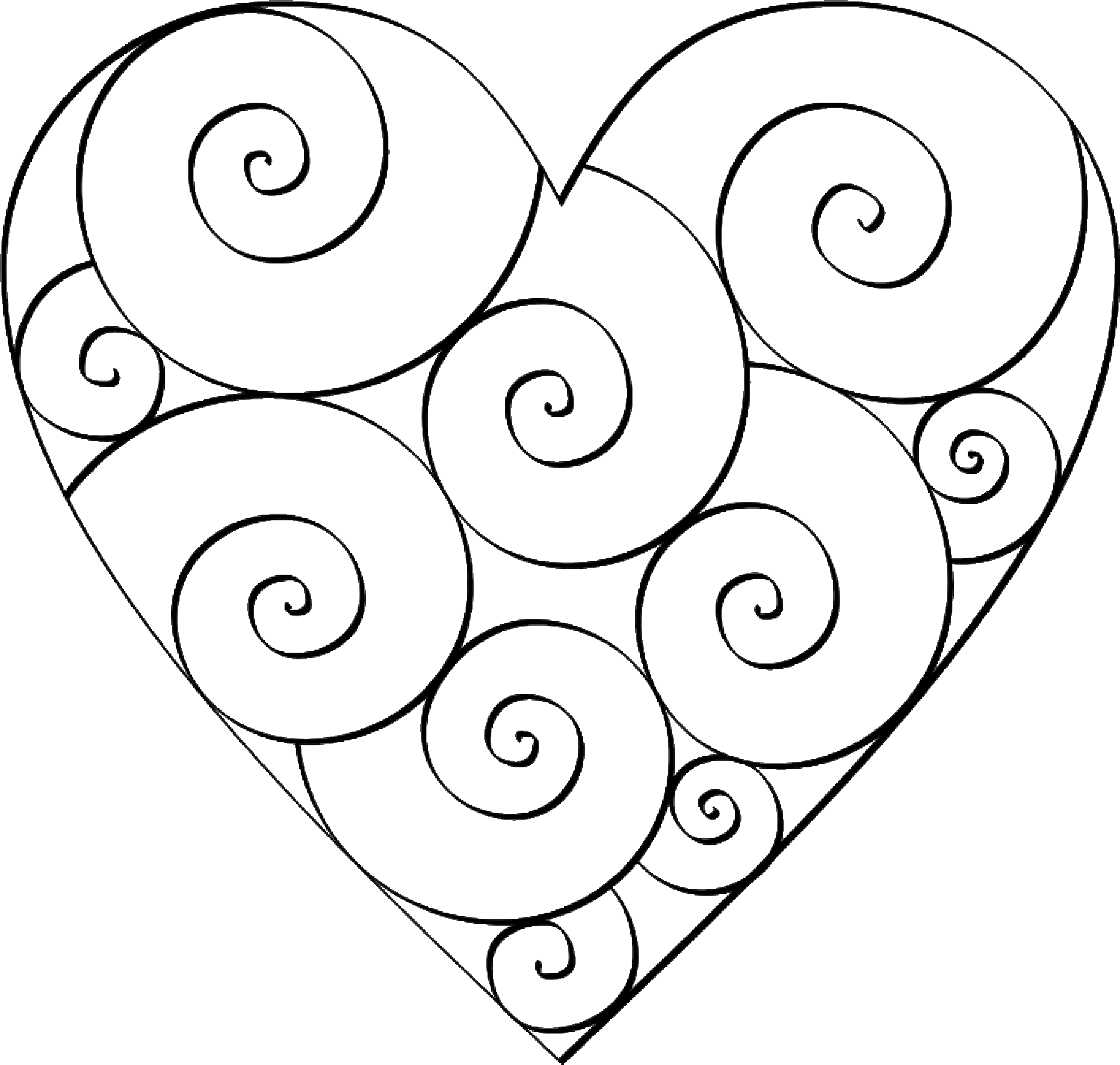 coloring pages heart shape printable heart shape coloring pages like success pages coloring shape heart