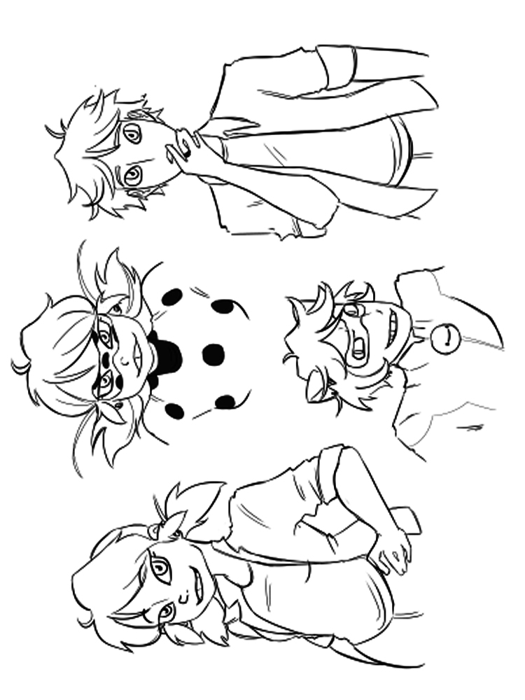 coloring pages ladybug and cat noir ladybug and cat noir coloring pages cat pages coloring ladybug and noir