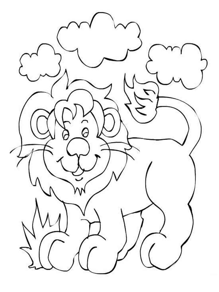 coloring pages lions the mighty lion coloring pages printable stpetefestorg coloring lions pages