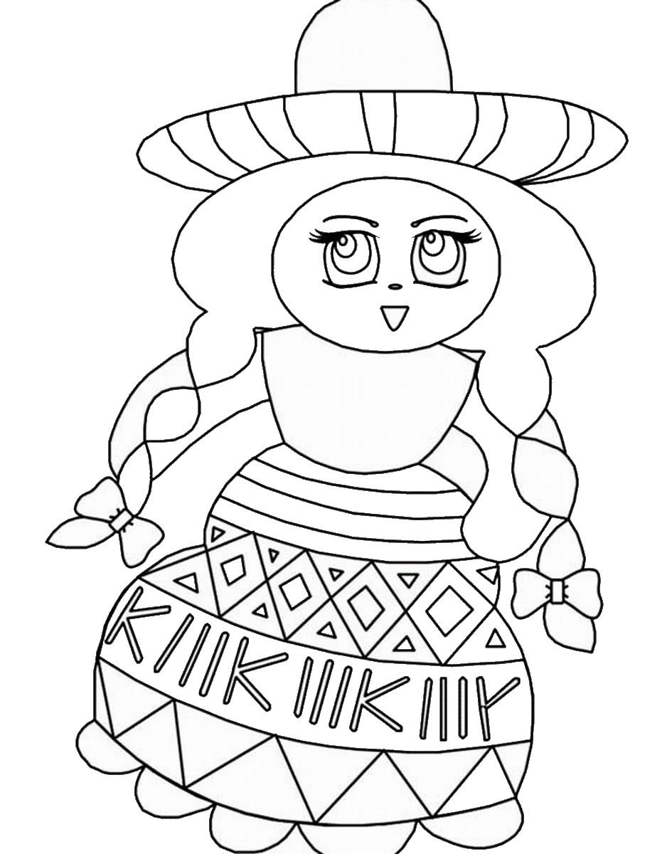 coloring pages mexico mexican coloring pages to print coloring home pages coloring mexico