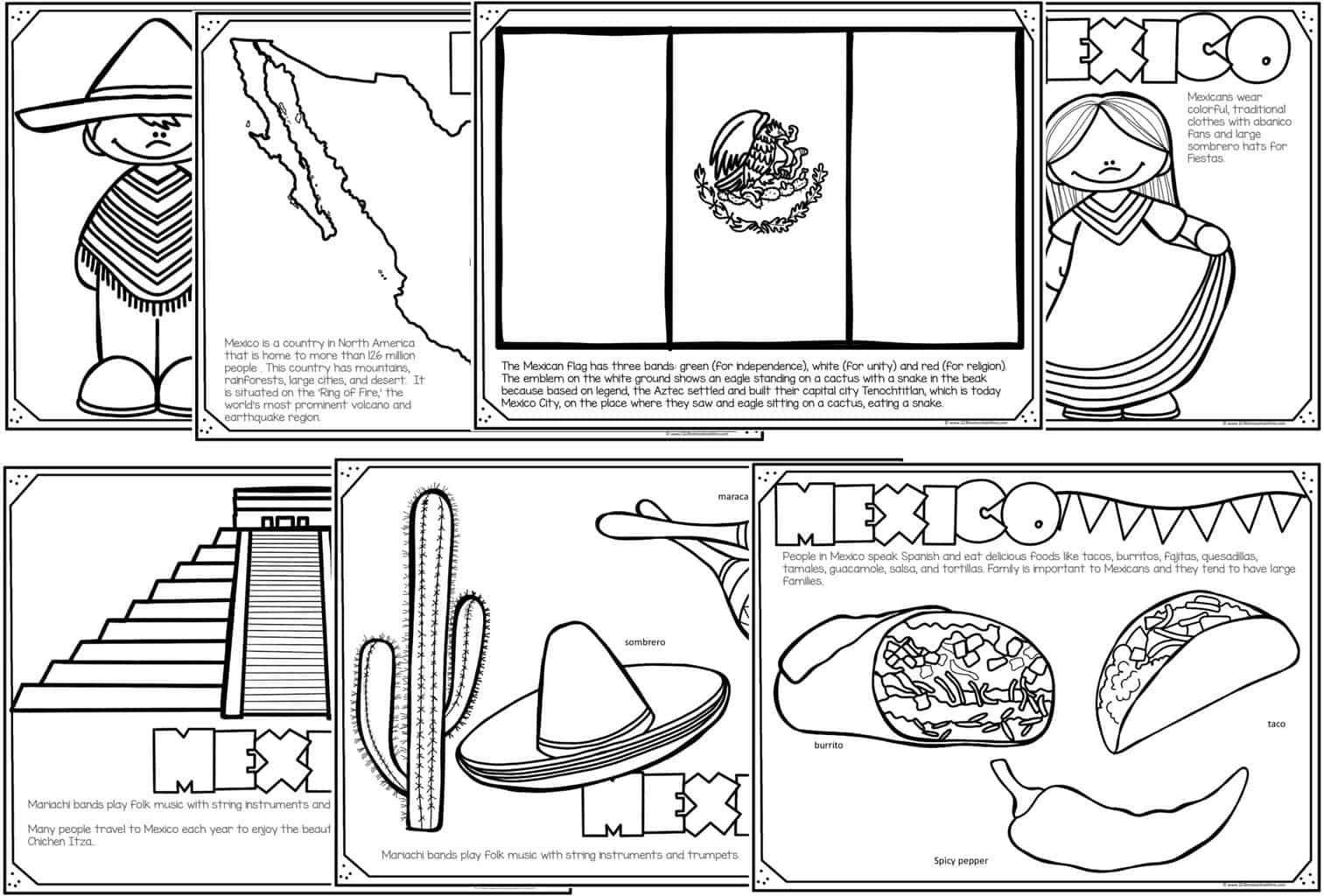 coloring pages mexico read color learn country coloring pages coloring mexico pages