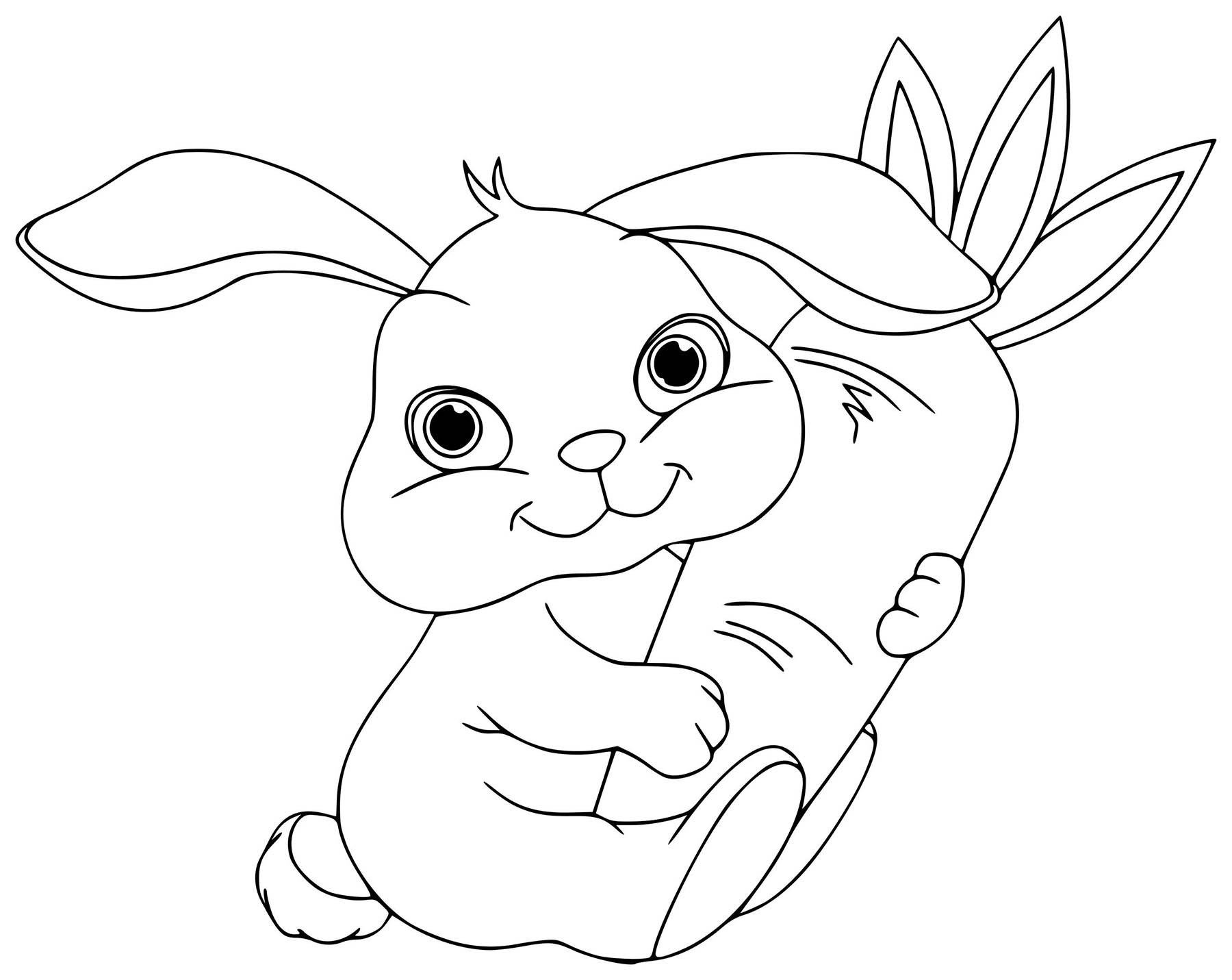 coloring pages of a bunny rabbit coloring pages coloring bunny pages a of
