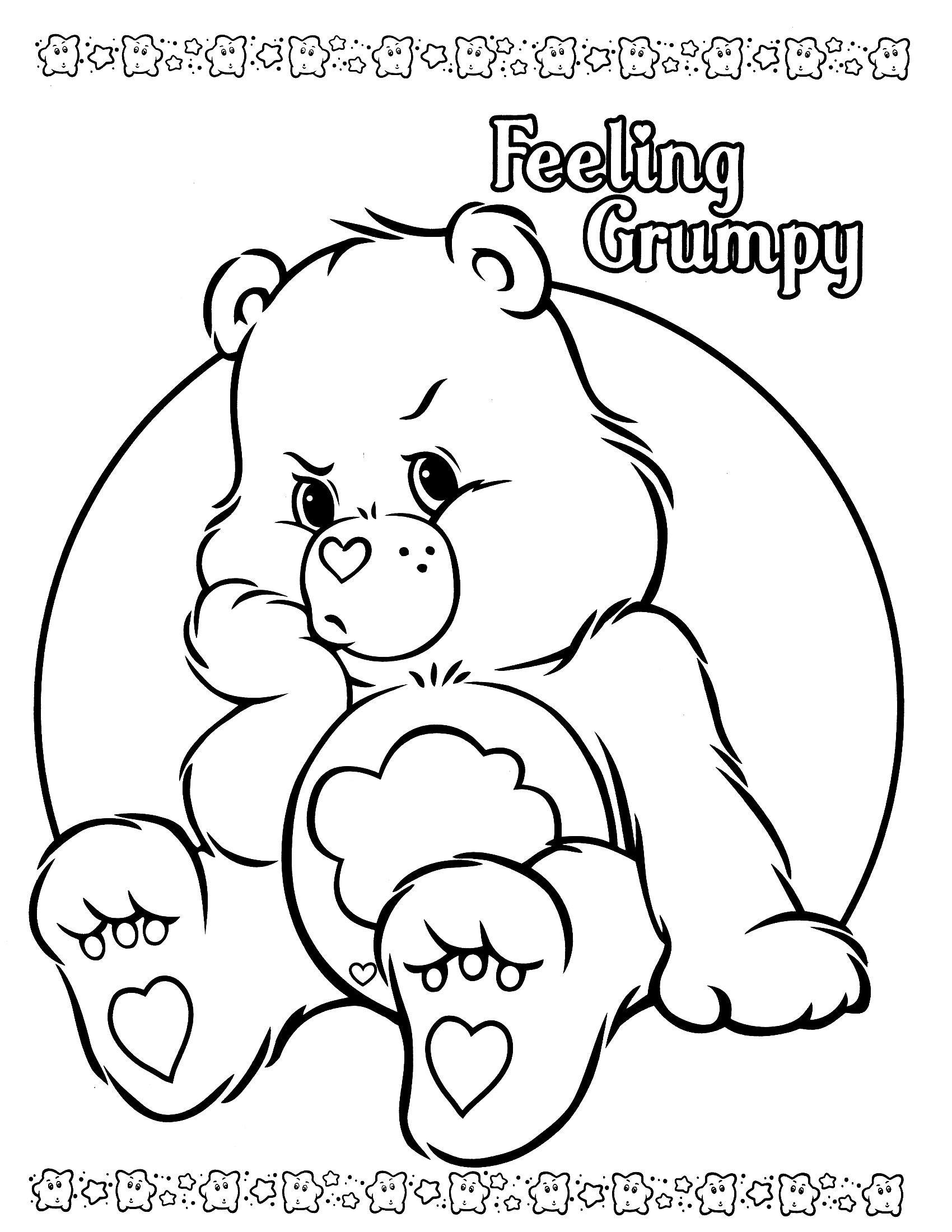 coloring pages of bears to print care bear coloring pages to download and print for free bears pages to coloring of print 1 1