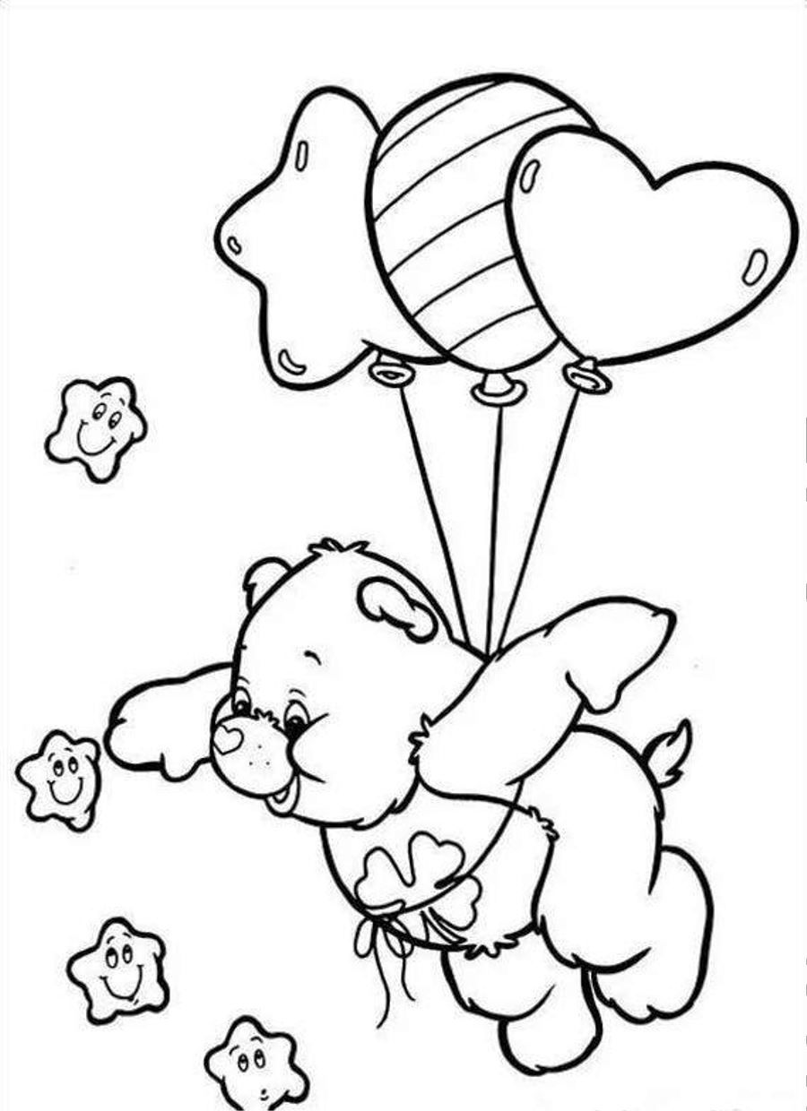 coloring pages of bears to print free printable care bear coloring pages for kids bears to coloring print pages of