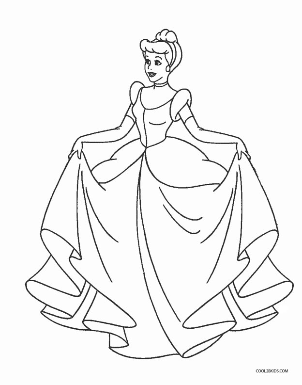 coloring pages of cinderella beautiful cinderella coloring pages tell the story cinderella pages coloring of