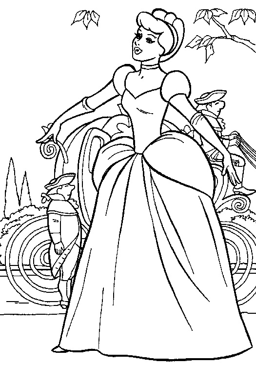coloring pages of cinderella cinderella coloring pages to download and print for free of coloring cinderella pages