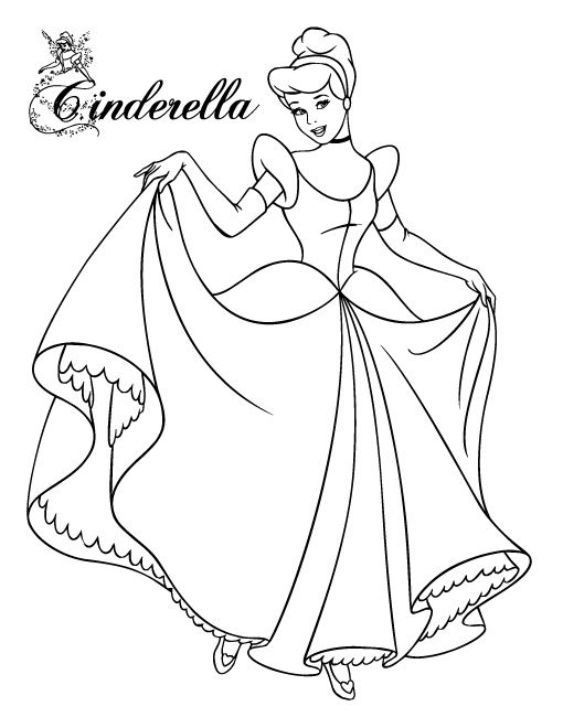 coloring pages of cinderella free printable cinderella coloring pages for kids cool2bkids cinderella coloring pages of