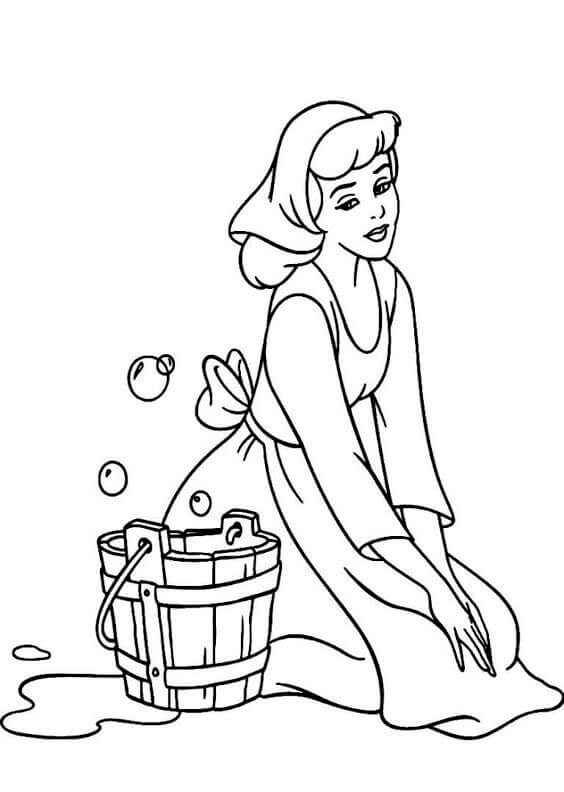 coloring pages of cinderella free printable cinderella coloring pages for kids cool2bkids pages cinderella coloring of