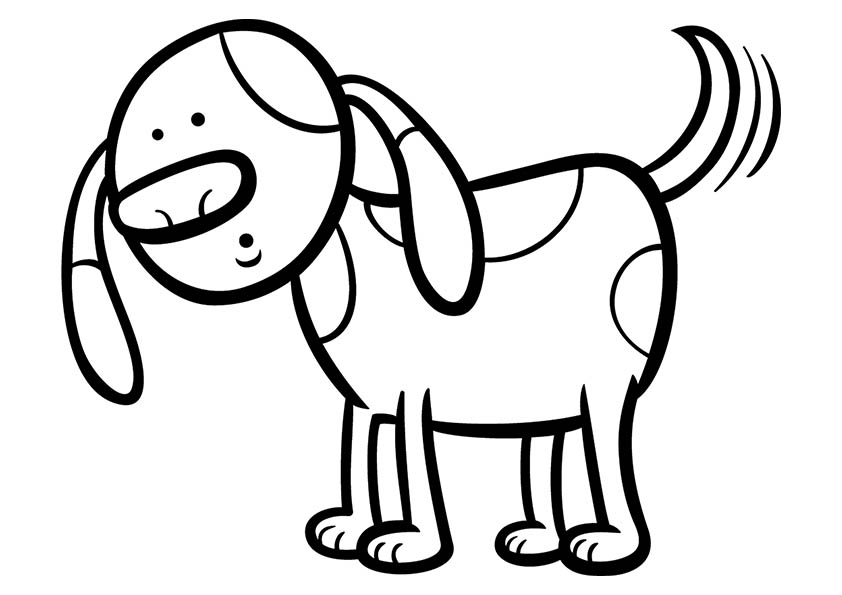coloring pages of dogs printable 9 dog coloring pages free premium templates dogs coloring printable of pages