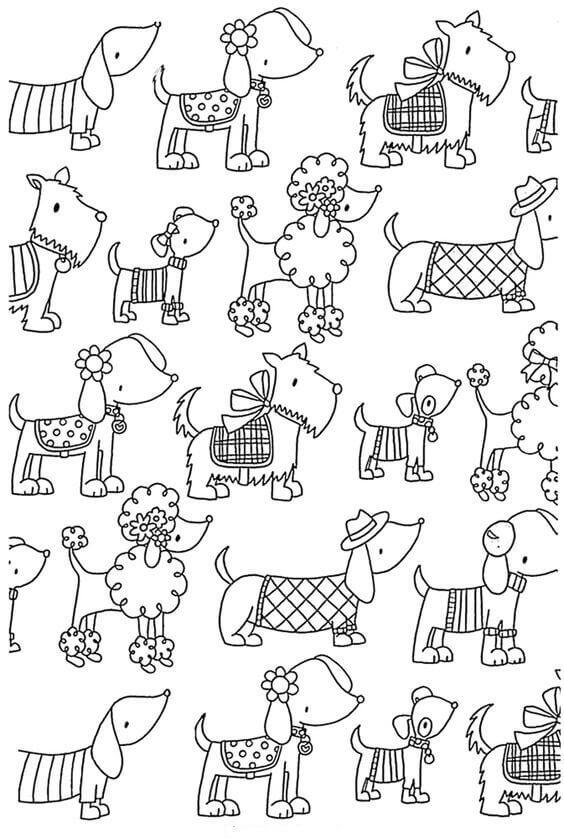 coloring pages of dogs printable coloring pages of dogs printable of dogs coloring pages printable