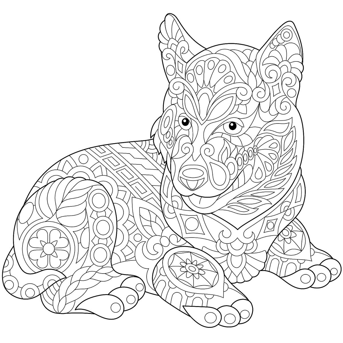 coloring pages of dogs printable dog coloring pages for kids print them online for free pages printable coloring of dogs