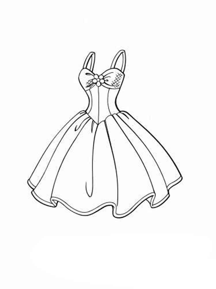 coloring pages of dresses clipart dress coloring pages collection cliparts world 2019 dresses pages coloring of