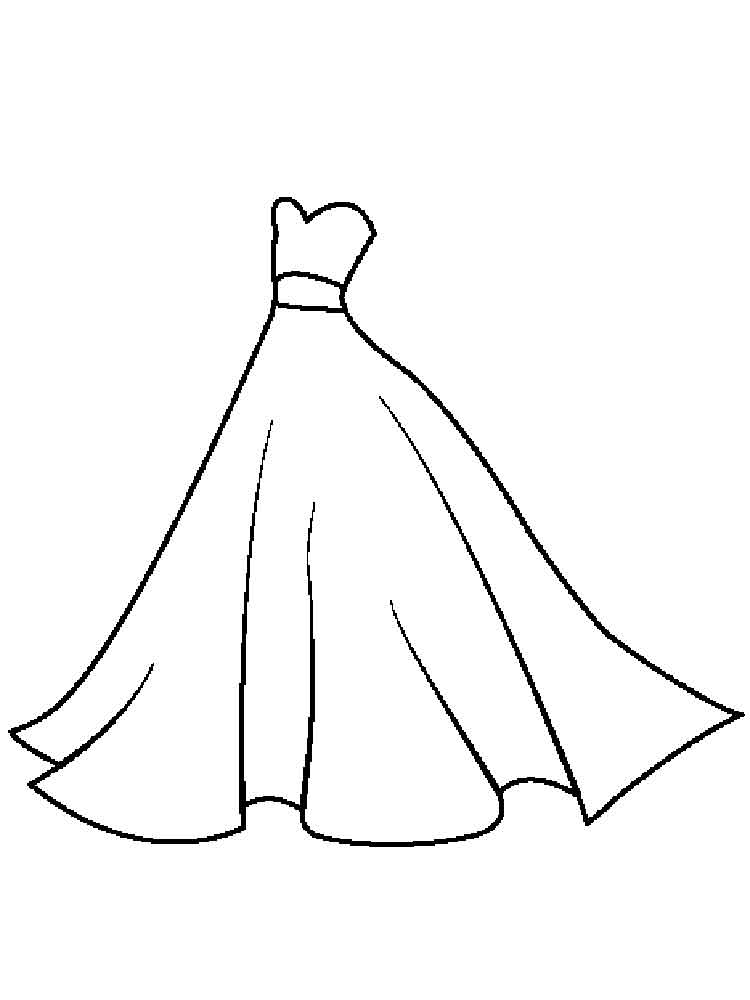 coloring pages of dresses coloring pages of girls in dresses at getcoloringscom of pages coloring dresses
