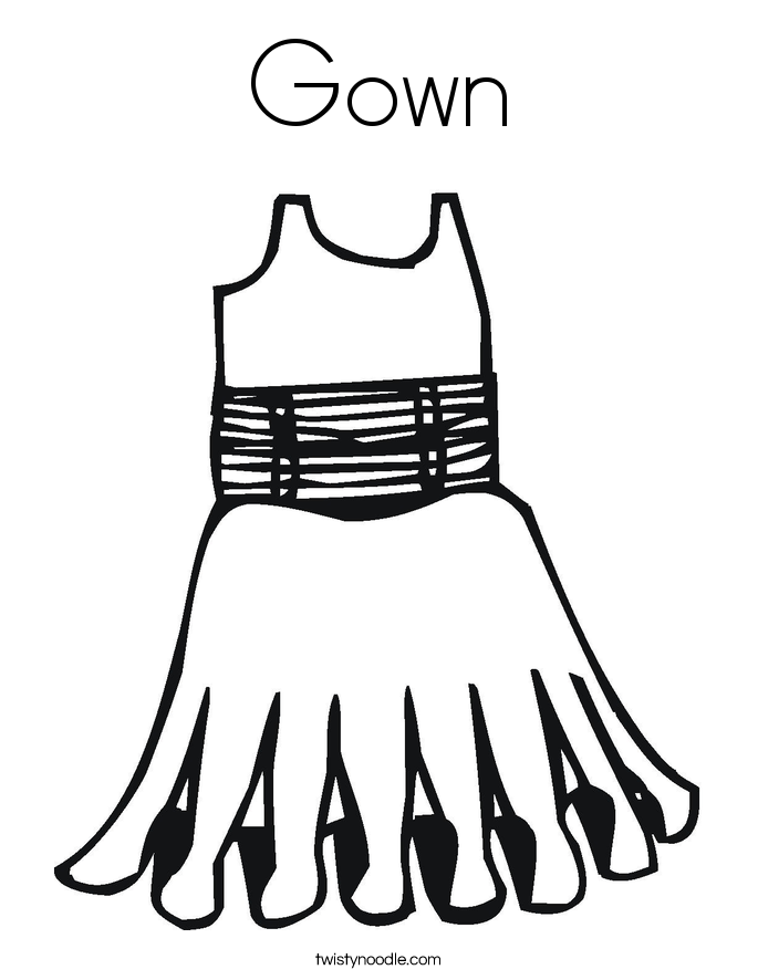coloring pages of dresses dress coloring pages free download on clipartmag coloring dresses of pages