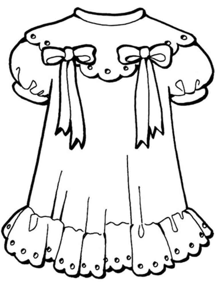 coloring pages of dresses dress coloring pages free download on clipartmag of dresses coloring pages