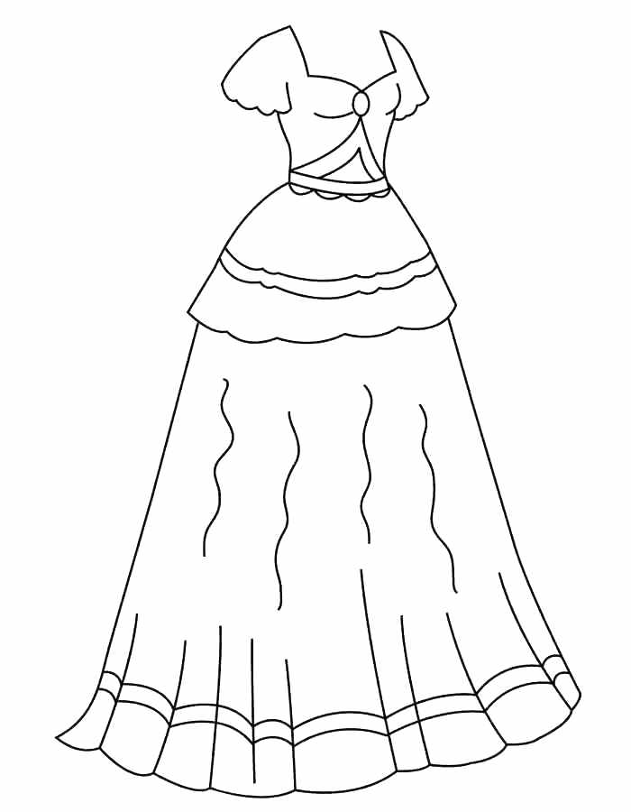 coloring pages of dresses dress coloring pages getcoloringpagescom pages of dresses coloring