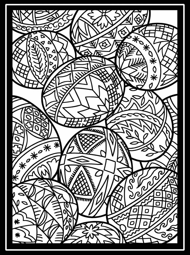 coloring pages of easter eggs easter egg hearts pattern coloring page free coloring easter of coloring eggs pages