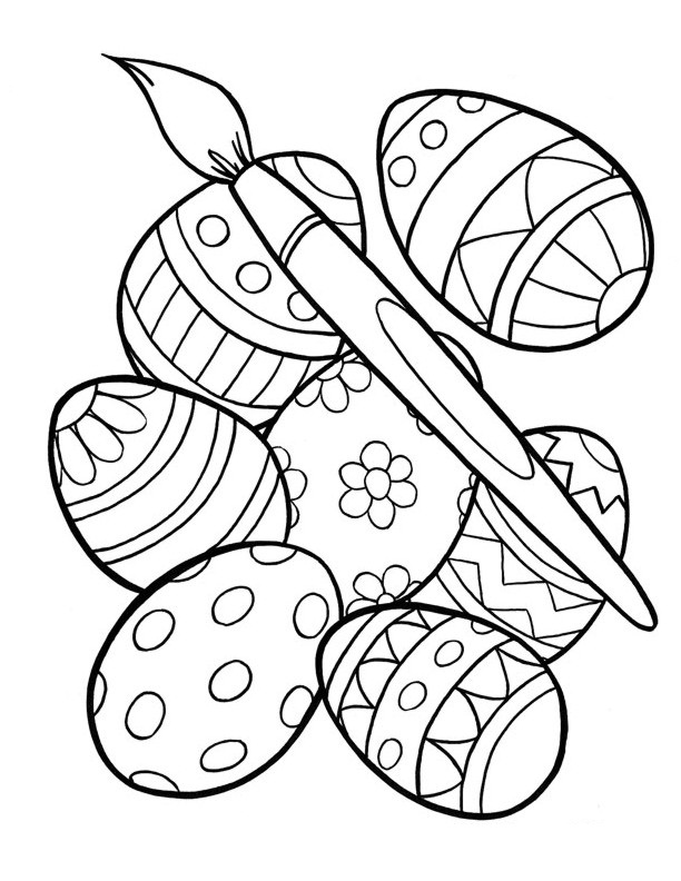 coloring pages of easter eggs printable easter egg coloring pages at getcoloringscom pages eggs of coloring easter