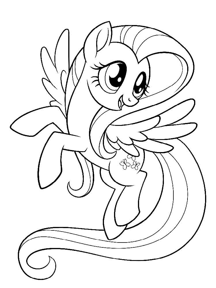 coloring pages of fluttershy coloring fun young fluttershy of pages coloring fluttershy