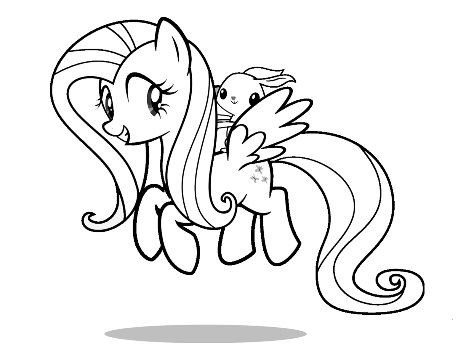 coloring pages of fluttershy fluttershy coloring pages best coloring pages for kids coloring of fluttershy pages